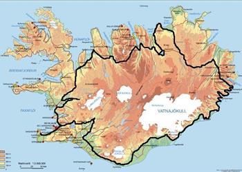 Around Iceland in 8 Days Self-Drive Northern Lights Tour